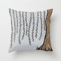 Willow Tree Throw Pillow