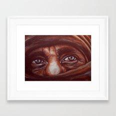 mudzahedin part 2 Framed Art Print