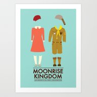 Moonrise Kingdom Poster Art Print