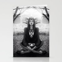 Meditate 2 Stationery Cards