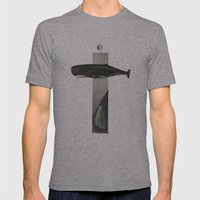Untitled.5 Mens Fitted Tee Athletic Grey SMALL