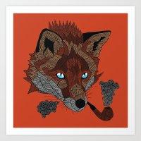 FOX&PIPE Art Print