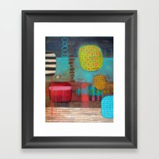 Floating By Framed Art Print
