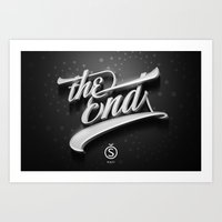 The End — Promotional … Art Print