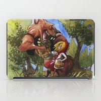 Red Hood iPad Case