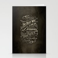 The Best Way - Typography Stationery Cards