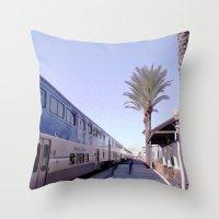 A Traveler's Perspective Throw Pillow