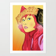 Art Print featuring Superheroes SF by Vasco Vicente