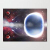 Unending Space Canvas Print