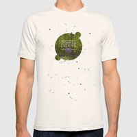 ENCHANTED Mens Fitted Tee Natural SMALL