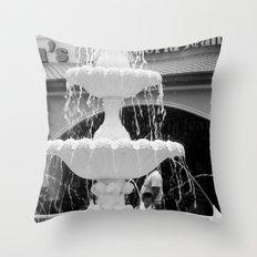 Gloria Jeans Coffee Throw Pillow