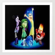 Art Print featuring INSIDE OUT by Acus