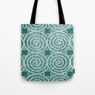 LACY CURLS With CUBES | … Tote Bag