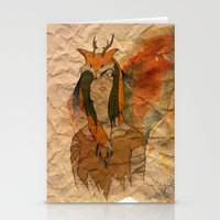 Forest Princess Stationery Cards