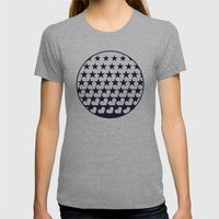 Love Among Stars Womens Fitted Tee Athletic Grey SMALL