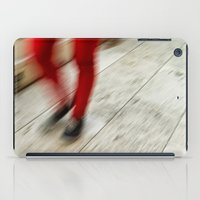 Red Hot Walking iPad Case