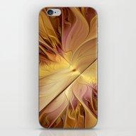 iPhone & iPod Skin featuring Golden Autumn by Gabiw Art