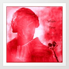 Wish You a ........ Art Print