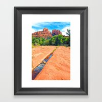 Excerpt From A Day At Re… Framed Art Print