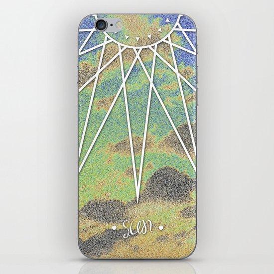 Solarized Burst iPhone & iPod Skin