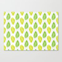 Turn Over A New Leaf Canvas Print