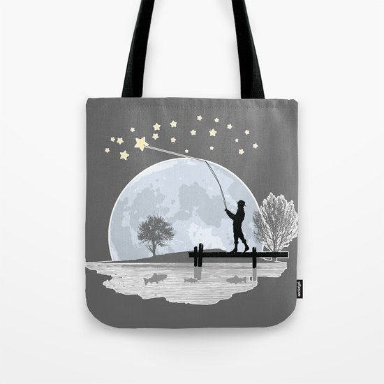 Star Fishing Tote Bag