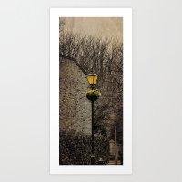 Old Lampost Art Print
