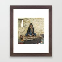 Mr Xylophone  Framed Art Print