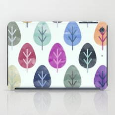 Watercolor Forest Pattern  iPad Case