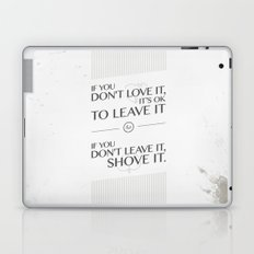If you don't love it… A PSA for stressed creatives Laptop & iPad Skin