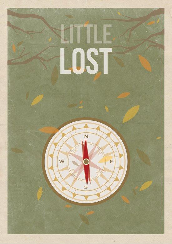 Little Lost Art Print