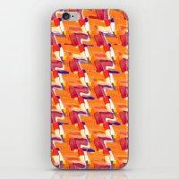 Oranja Plaid iPhone & iPod Skin