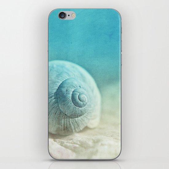 APRICOTEE   Blue version iPhone & iPod Skin