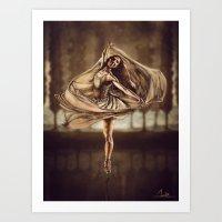 Dancerulean Art Print