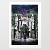 The Rift Official Movie Poster Art Print