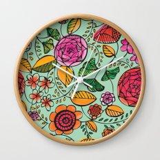 Garden Variety Wall Clock