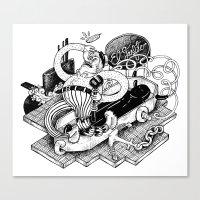 Gasfiter Galaz! Canvas Print