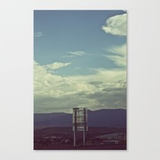 Nothing to Say Canvas Print