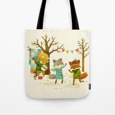 Critters: Spring Dancing Tote Bag