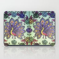 iPad Case featuring Peacock Pattern by SwanniePhotoArt