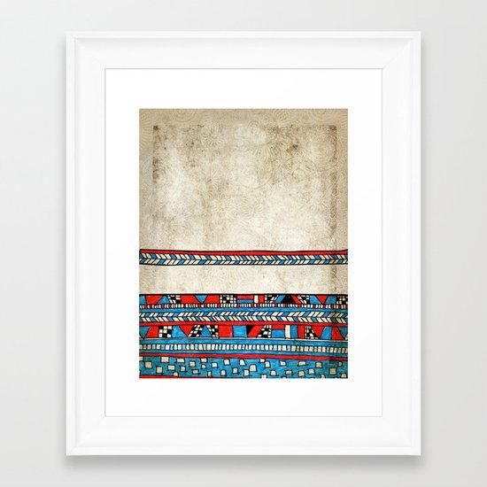 Complicated Framed Art Print