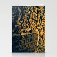 Catacomb Bones Stationery Cards