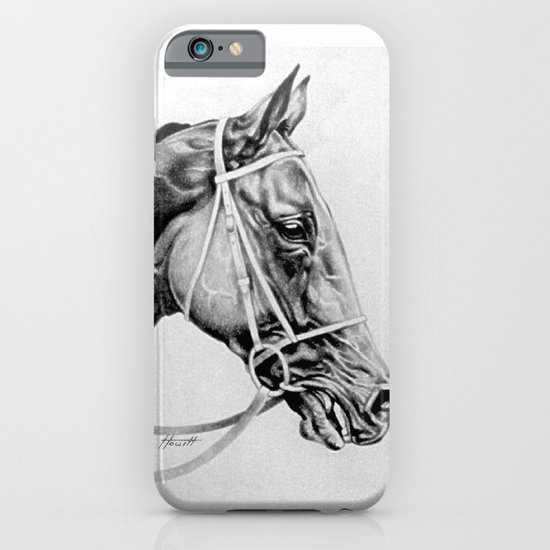 Ready to Run - Racehorse iPhone & iPod Case