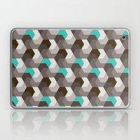 Chocomint Hexagons Laptop & iPad Skin
