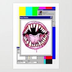 FATAL ERROR Art Print