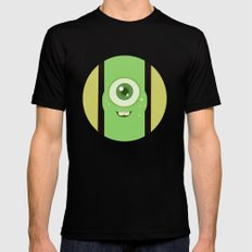 Wasausky pequeño Mens Fitted Tee SMALL Black