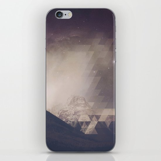 Space Mountain iPhone & iPod Skin