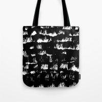 Black pattern#1 Tote Bag