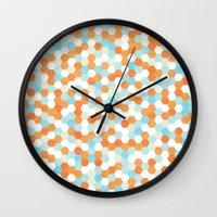 Honeycomb | Fish Bowl Wall Clock