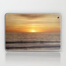 California Sunset Over Ocean Laptop & iPad Skin